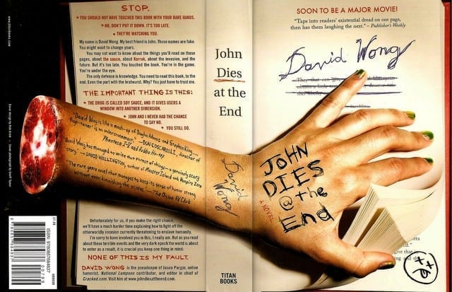 Book cover for John Dies at the End