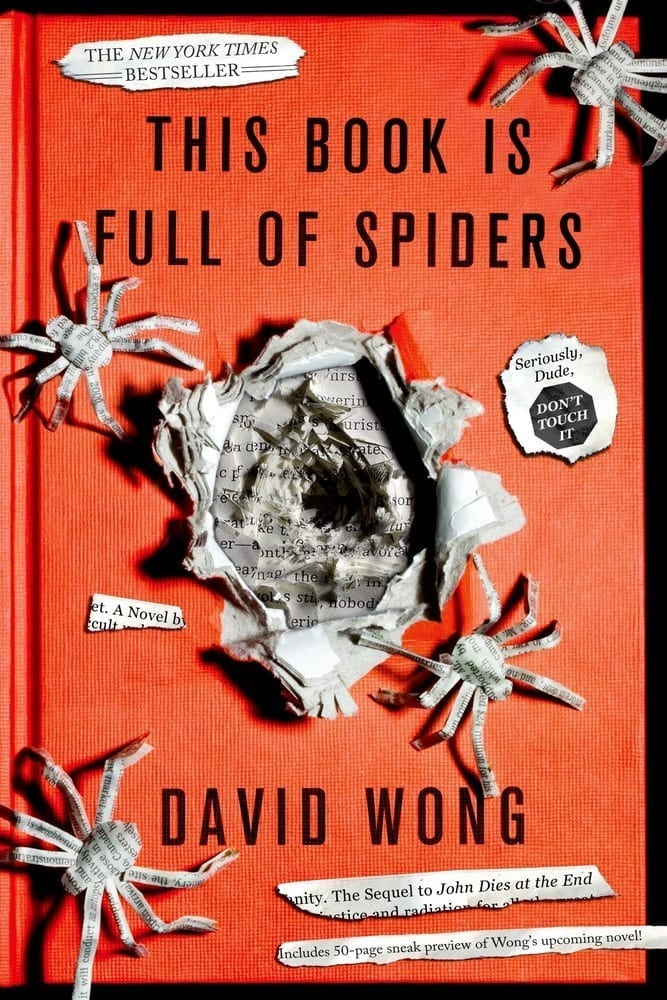 Cover for This Book is Full of Spiders