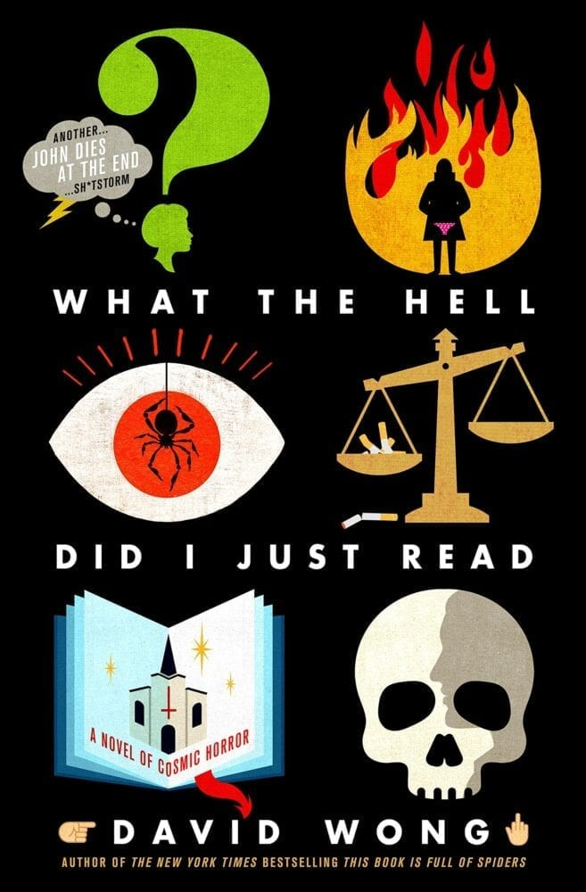 Book cover for What the Hell Did I Just Read?