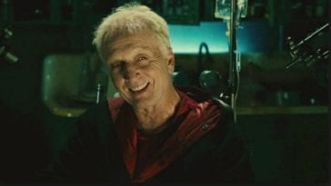 Tobin Bell as John Kramer smiling
