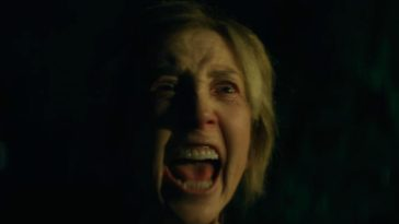 Lin Shaye looks scary evil here