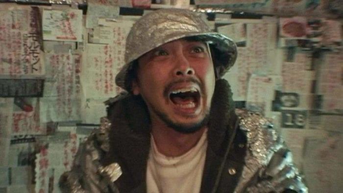 Mitsui Hori yells in fear