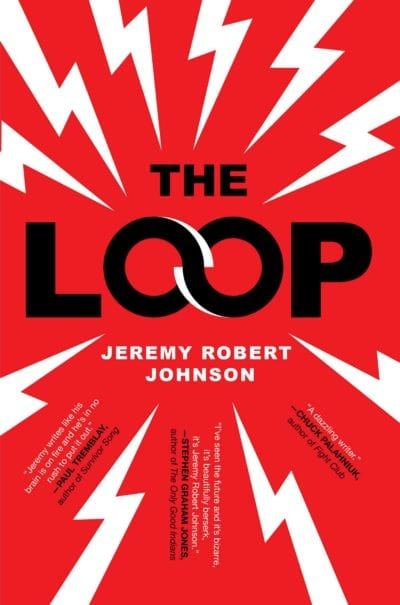 Cover of The Loop has the title surrounded by lightning bolts