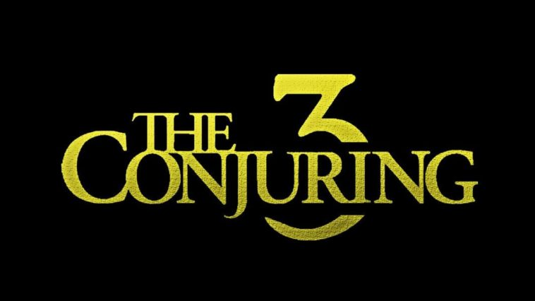 The Conjuring 3 title card