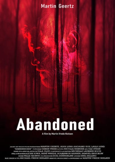 Movie poster for Abandoned.