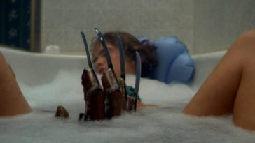 Freddy's Claw Rising from the bath tub