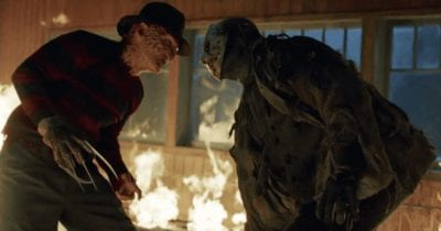 Freddy and Jason meet for a mediocre melee in this wonderfully awful crossover - Freddy vs Jason