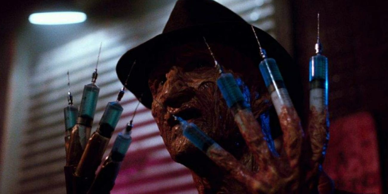 Freddy turned his fingers into needles