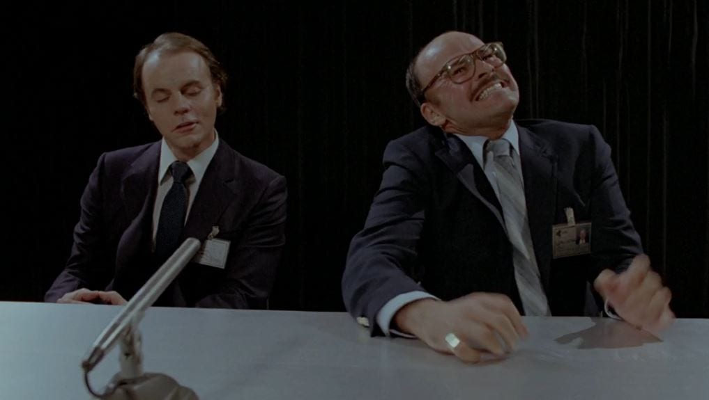 Tension builds as Darryl takes control of the ConSec stooge's mind