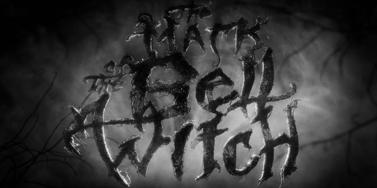 Title card weith stylised words The Mark of the Bell Witch