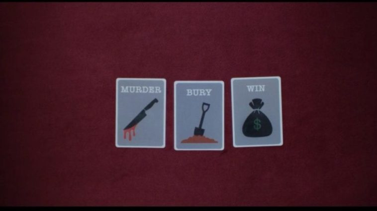 Title cards of Murder Bury Win