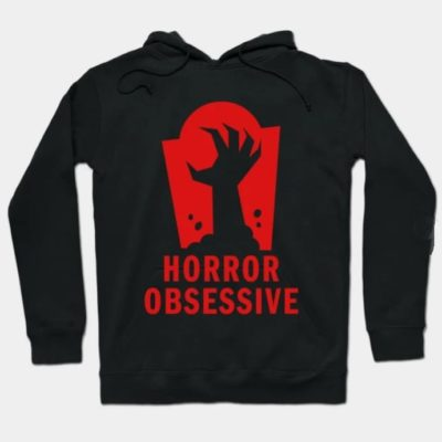 Hoodie with Horror Obsessive logo