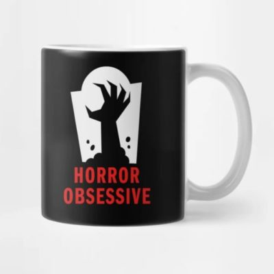 Coffee mug with Horror Obsessive logo