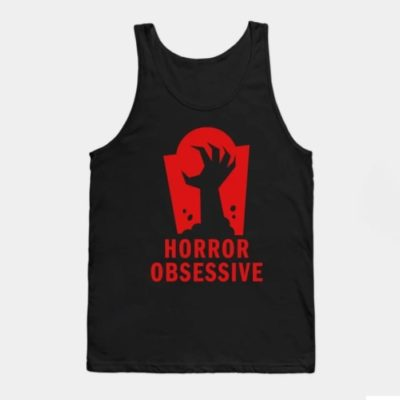 Tank top with Horror Obsessive logo