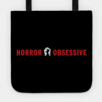 Tote bag with Horror Obsessive logo