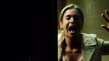 Jill screaming at clinic door