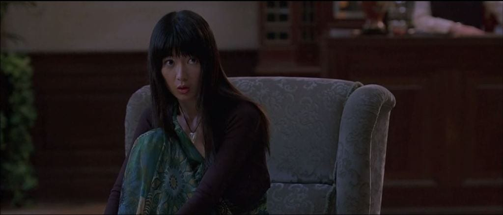 Jennifer Lim as Kana in Eli Roth's 2006 film, Hostel.