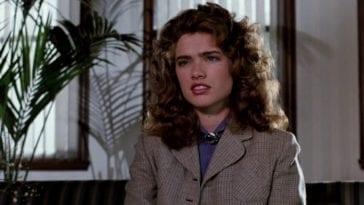 Heather Langenkamp as Nancy Thompson in Nightmare on Elm Street 3.
