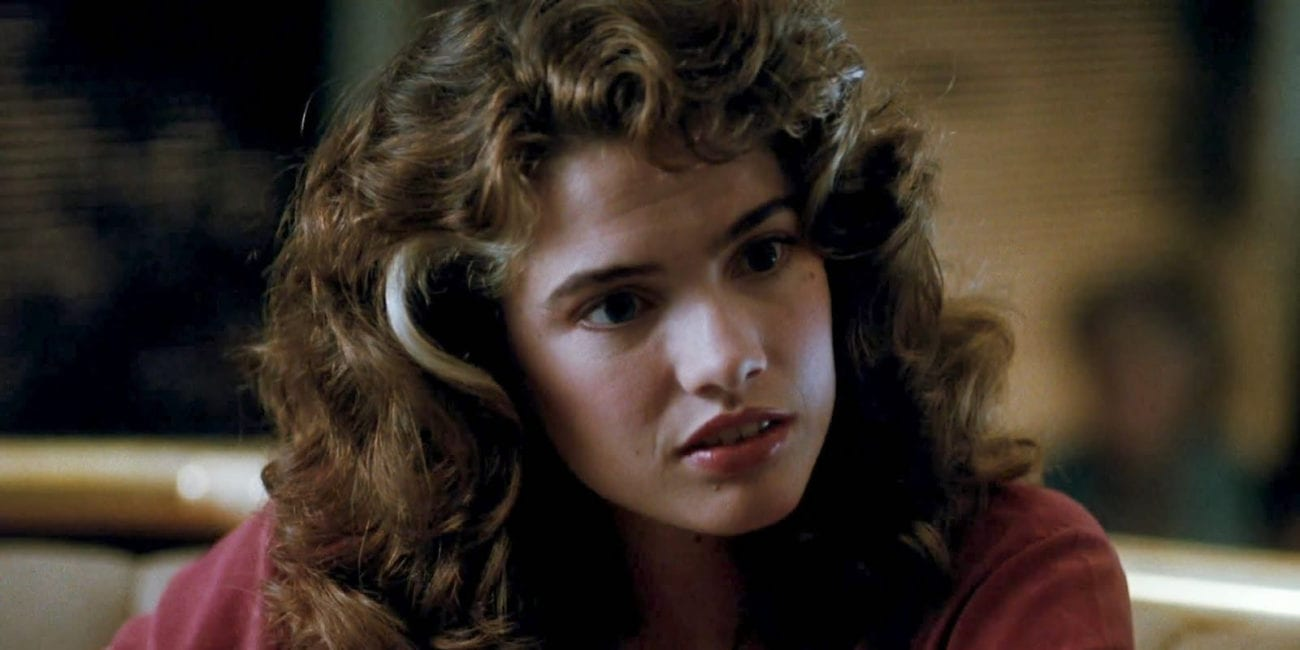 Heather Langenkamp as Nancy Thompson in Nightmare on Elm Street 3: Dream Warriors
