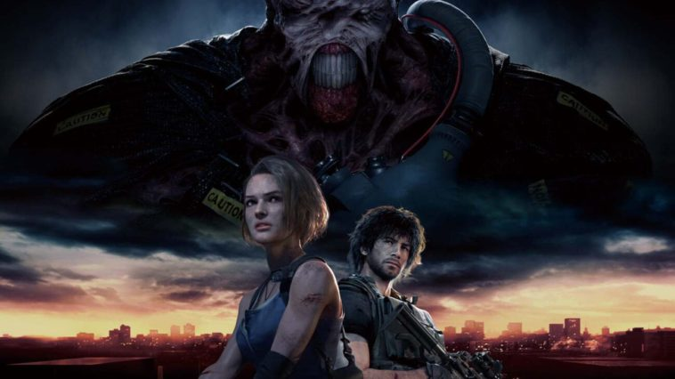 Cover art for Resident Evil 3 remake