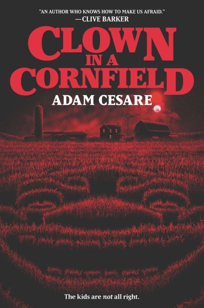 Book cover for Adam Cesare Clown in a Cornfield