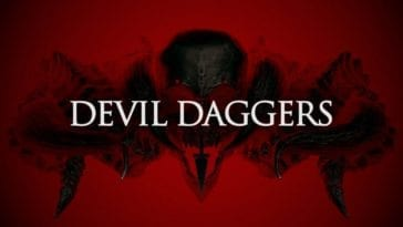 Title art for Devil Daggers