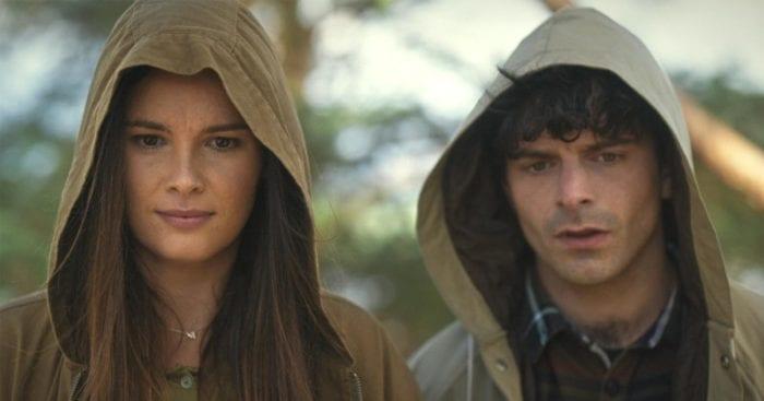 Emma and Isaac looking perplexed