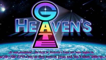 Heaven's Gate website home page.