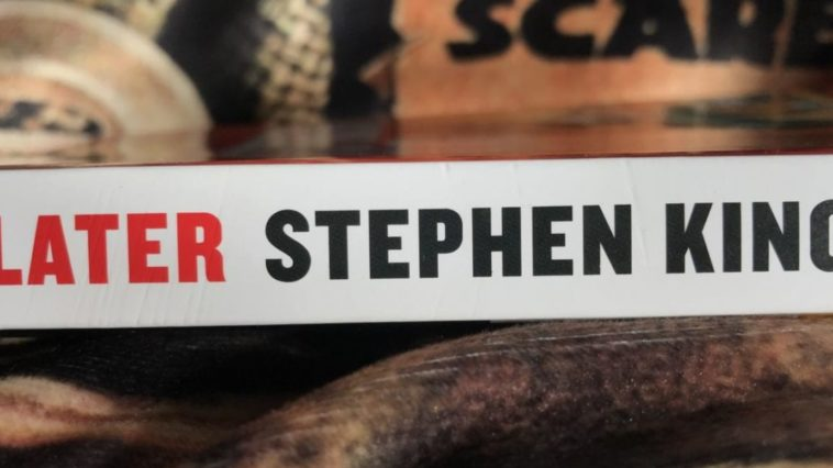 Book spine of Stephen King's Later
