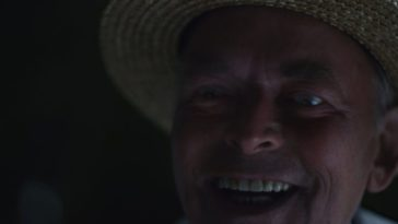 Close up of a smiling Mog