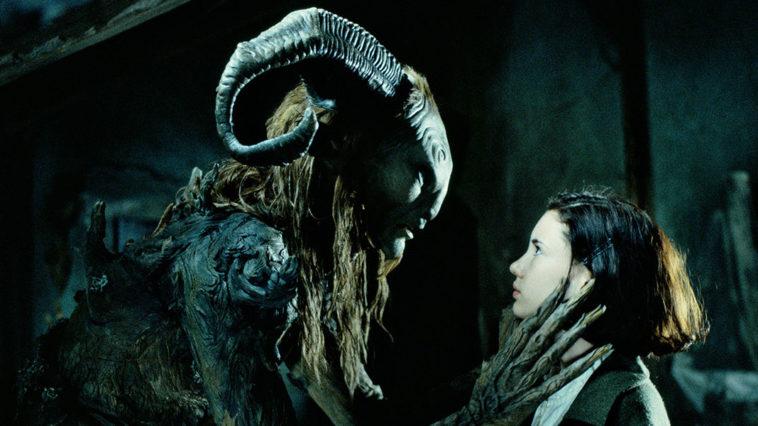 The faun talking to Ofelia