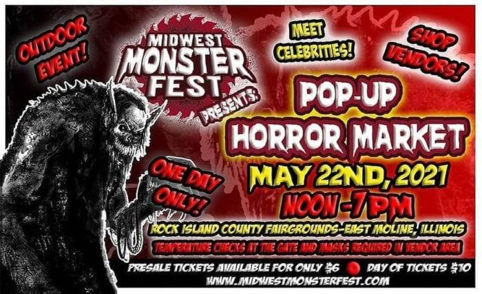 Midwest Monster Fest Pop-Up Horror Market details