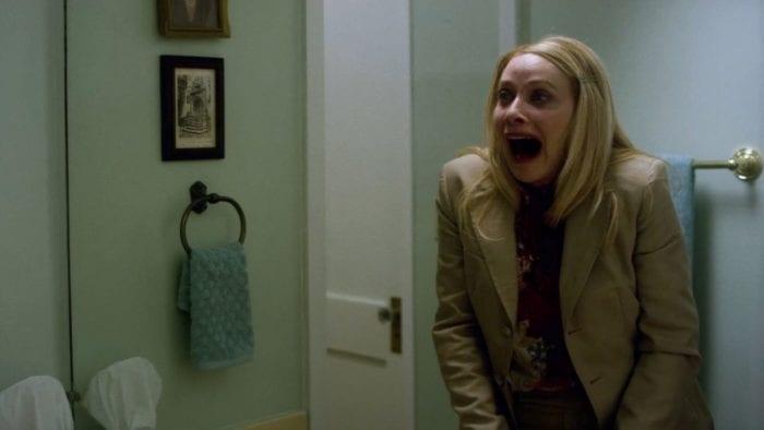 Anne screams, realizing something terrible.