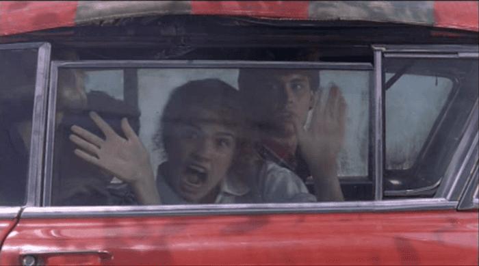 nightmare on elm street Nancy in Freddy's car