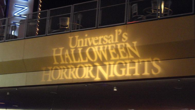 Universal's Halloween Horror Nights banner