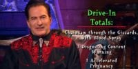 Joe Bob Briggs listing the Drive-In Totals for Fried Barry
