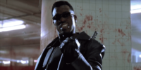 Blade clinches his fist.