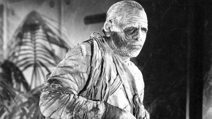 The mummy looking creepy