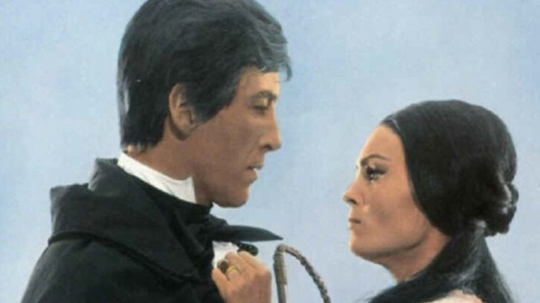 Image of Christopher Lee and Daliah Lavi from The Whip and the Body