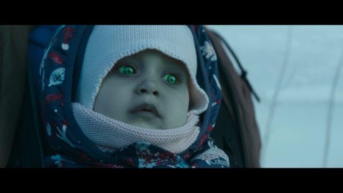 Baby Annie in Brain Freeze