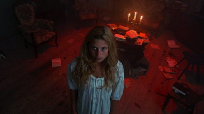 Anna Platen as Eva Ziehnagel in Dawn Breaks Behind the Eyes
