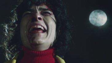 Cecilia screaming