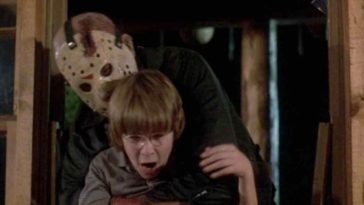 Tommy Jarvis gets snatched up by Jason
