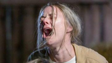 Kate screams