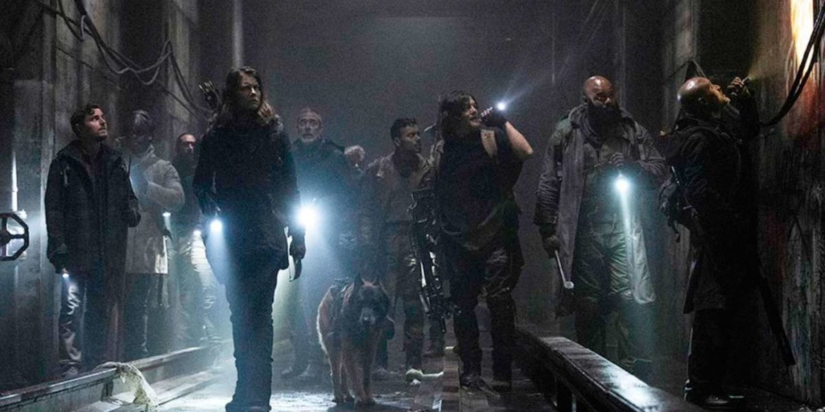 The Walking Dead S11Ep1 finds our characters in a dark deadly tunnel
