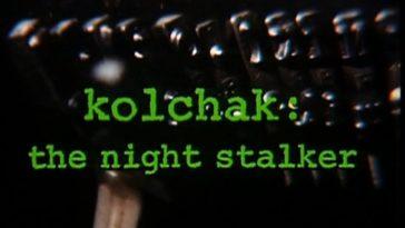 Title display for tv show Kolchak the Night Stalker