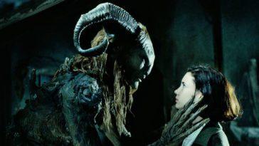 Ofelia and the faun talking