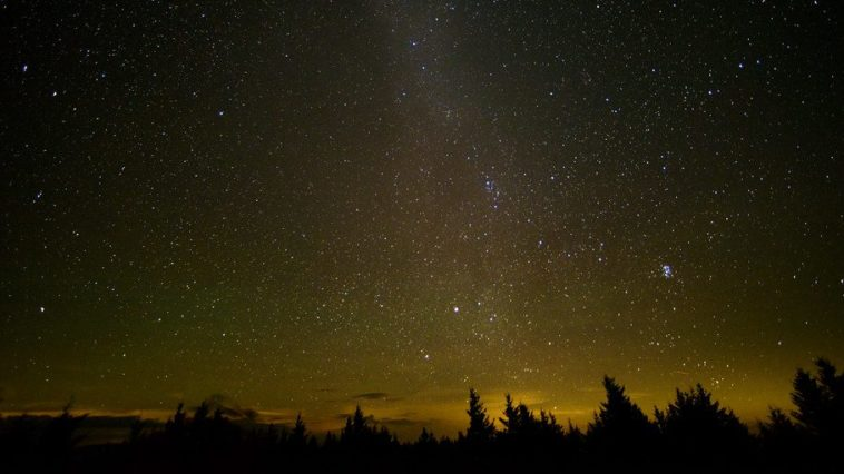 A meteor shower pummeling Earth...is this the apocalypse?