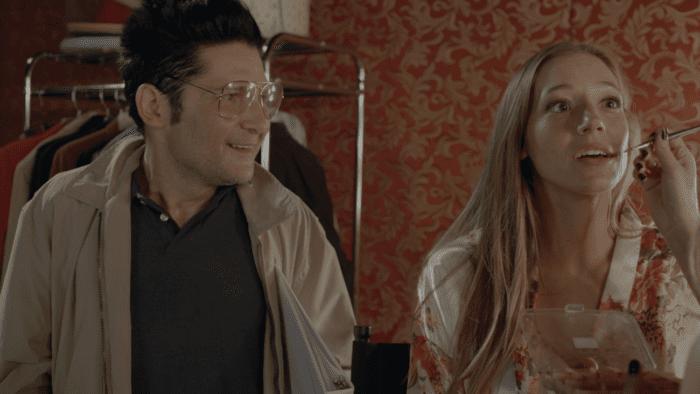 Corey Feldman and Hayley Greenbauer in 13 Fanboy