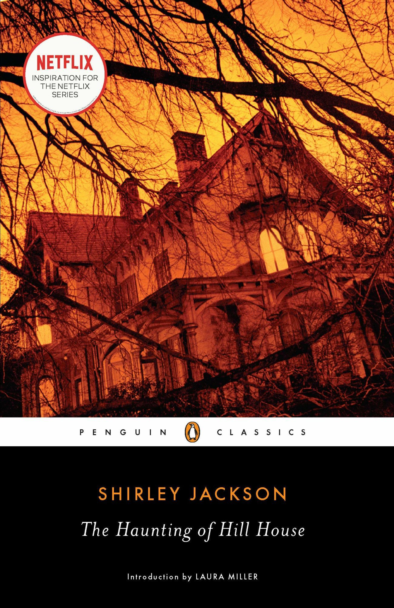 Cover of Penguin Classics edition of The Haunting of Hill House
